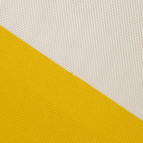 Toldo para estructura corredera Windhager 10875 270 x 140cm, amarillo / blanco