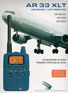 AR109/AR-33XLT Airband/VHF AM/FM Handheld Radio Scanner - New version of Maycom AR108