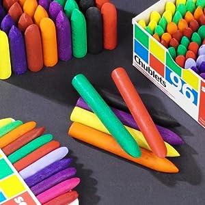Scola Chublet crayons, box 96