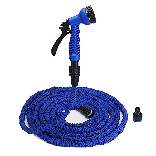 [US Standard] Ultra Lightweight Flexible Expandable Garden Water Hose Sets, 100FT (Hard Cover Fix And Freeze compare prices)