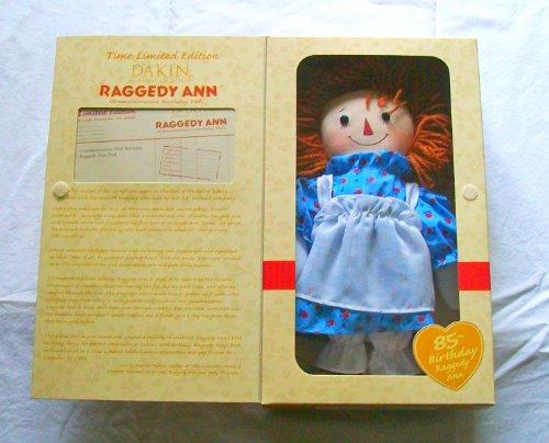 Raggedy Ann 85th Birthday Commemorative Birthday Doll