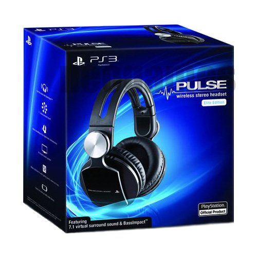 Sony Pulse Wireless Stereo Headset - Elite Edition **Brand New**