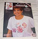 img - for FashionArt Roses Full Color Iron-on Design (Dimensions) Craft 1998 Fashion Arts (80495) book / textbook / text book