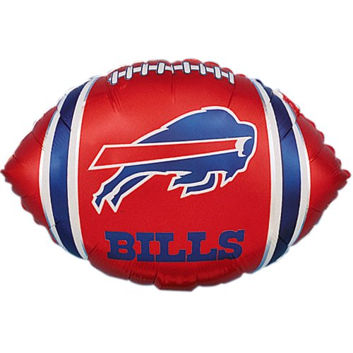 "Anagram International Buffalo Bills Flat Party Balloons, 18"", Multicolor"