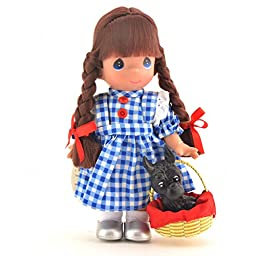 Precious Moments Doll The Wizard Of Oz Dorothy & Toto With Stand