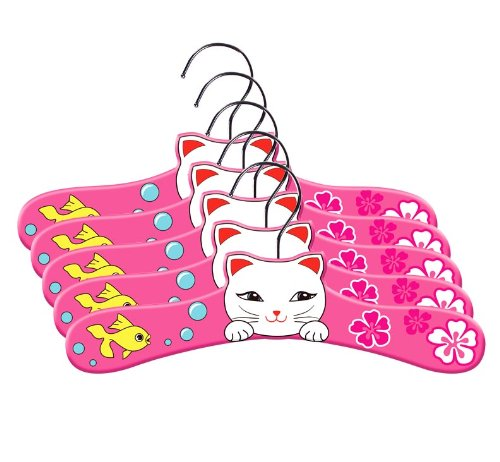 Kidorable Lucky Cat Infant Hanger Set, Small 5
