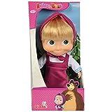 "Simba Masha and the Bear Masha Doll 9"" Pink Dress"