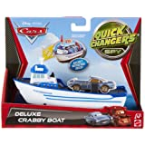 Cars Quick Changers Transforming Crabby Boat Transporter