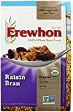 Erewhon Organic Raisin Bran Cereal 15 OZ (Pack of 3)