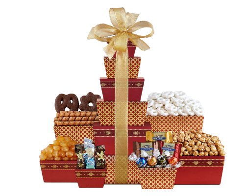 Wine Country Tower of Sweets Gift Basket