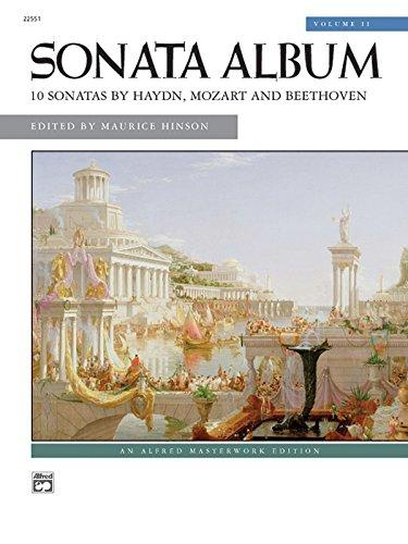 Sonata Album, Vol 2 (Alfred Masterwork Edition)