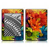 Kindle Touch Skin - Colours Flowers - High quality precision engineered removable adhesive skin sticker decal wrap for the Amazon Kindle Touch (Wifi / 3G) 6