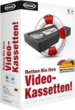 MAGIX Retten Sie Ihre Videokassetten  (Mac Edition)