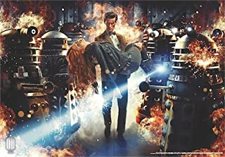Doctor Who Wallpaper Mural - Dynamic 2 (Fixed Size)