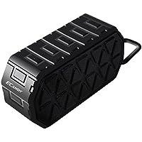 Ecandy Waterproof Outdoor Bluetooth Speaker with Mic (Black)