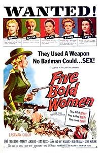 Five Bold Women 1959  MC-280