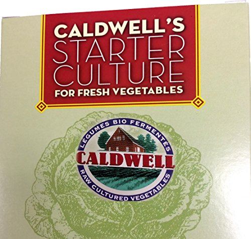 Starter Culture for Vegetables, 2-Packet Caldwell's Fermentation (Starter Cultures compare prices)