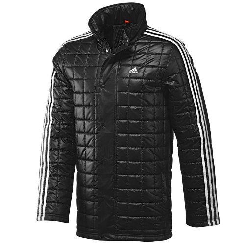 Adidas 3s Quilted Mens Padded Jacket L