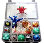 9 Bakugan Toy All Different + 9 Metal...