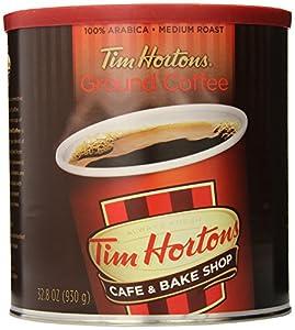 Tim Hortons Ground Coffee, Premium Blend, 32 Ounce