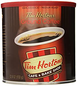 Tim Hortons Ground Coffee, Premium Blend, 32 Ounce