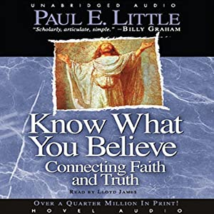 Know What You Believe Audiobook