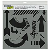 Crafters Workshop Template, 12 by 12-Inch, Susana's Arrows