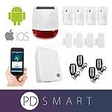 PD Smart 868Mhz Burglar House Home Alarm Wireless IP Security