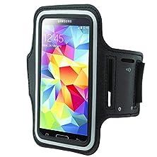 buy Black Gym Workout Running Armband Strap Case For Sprint Htc Evo 4G Lte - Sprint Samsung Ativ S Neo - Sprint Samsung Galaxy Nexus Lte - Sprint Samsung Galaxy S3 (Sph-L710) - Virgin Mobile Samsung L500