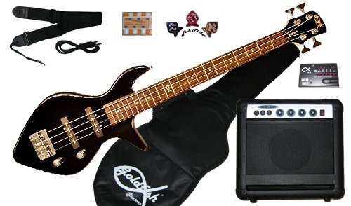 Bassfish Bass Guitar Package – Black