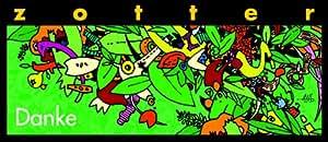 """Zotter """"Danke"""" - Waldbeeren mit Vanille, 2er Pack (2 x 70 g) - Bio"""
