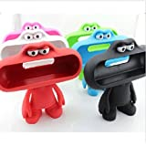 Cute Doll Dude Holder Case Cover for Beats by Dr.dre Pill Bluetooth Speaker Color Black