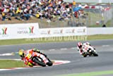 Motor Bikes photo - Valentino Rossi leads Marco Simoncelli 2011 - Medium - Print Only