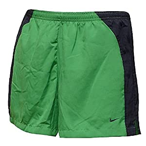 Nike Women's New Green/BlackBaggy Running Short