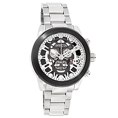 Invicta Men's 18866 Corduba Analog Display Swiss Quartz Silver Watch