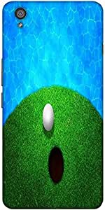 Snoogg Ball Near Water Golf Background Solid Snap On - Back Cover All Around ...