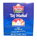 brooke bond TAJ MAHAL 100 tea bags (7 oz)