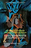 img - for Early Feminists of Colonial India: Sarala Devi Chaudhurani and Rokeya Sakhawat Hossain by Bharati Ray (2012-09-13) book / textbook / text book