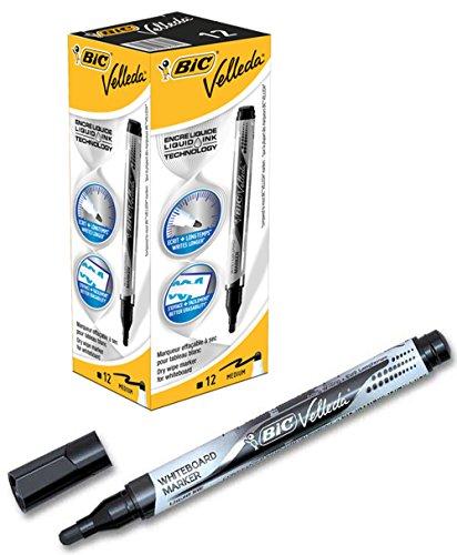 bic-velleda-liquid-ink-pocket-marqueur-effacable-a-sec-boite-de-12-noir
