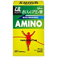 グリコ パワープロダクション おいしいアミノ酸 必須アミノ酸スティックパウダー レモンスカッシュ風味 1本(4.7g) 10本