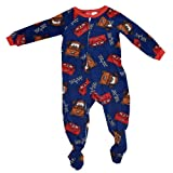 Disney Pixar Cars Boys Footed Blanket Sleepers (3T)