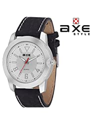 AXE Style Ablaze Collection Casual Analogue Men's Watch - X0156S1_White