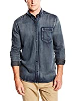Cheap Monday Camisa Vaquera Bolt (Azul)