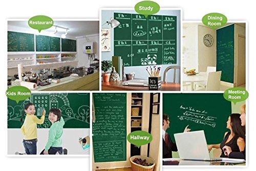 Life-Boost-Removable-Decorative-Blackboard-Chalkboard-Wall-Paper-Sticker-Decal-787-x-177in