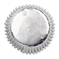 Papel de aluminio juego de envoltorios para magdalenas - , 45 unidades - 50 mm base
