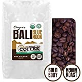 2 Lb. Bag, Bali Blue Moon Organic, Rain Forest Alliance, Whole Bean coffee, Fresh Roasted Coffee LLC.