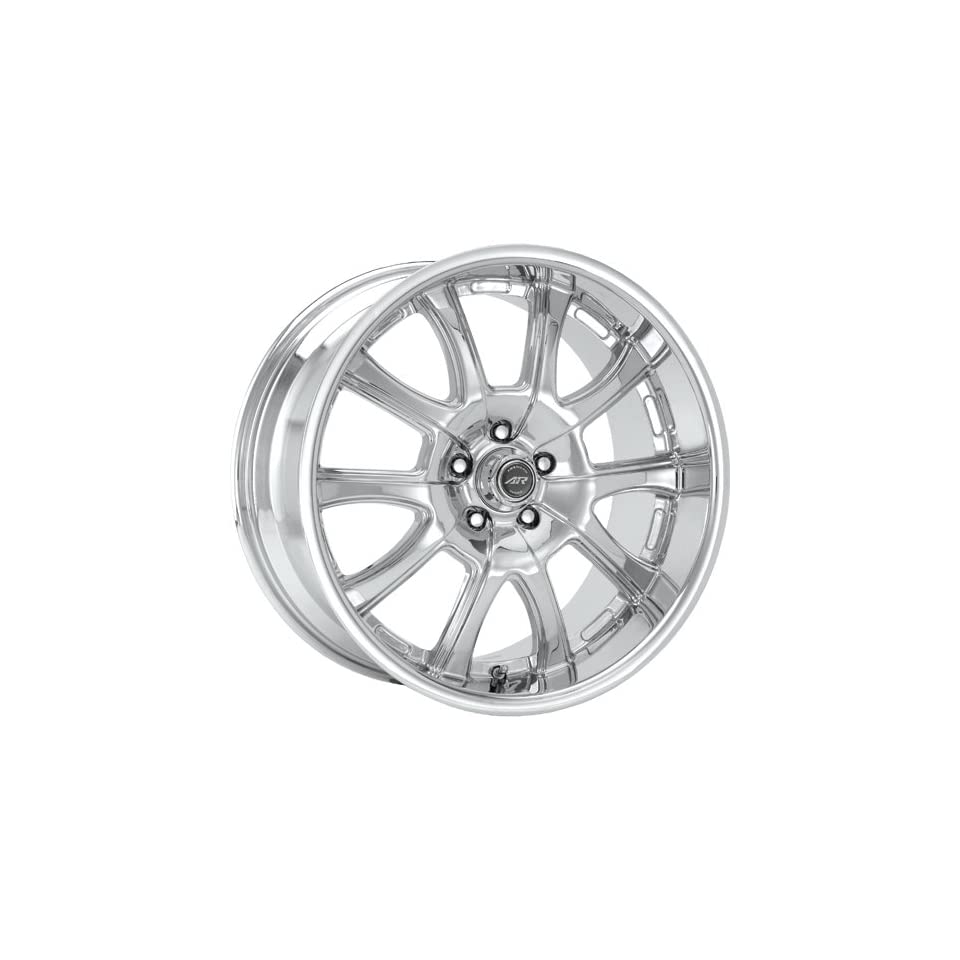American Racing Redline 18x9 Chrome Wheel / Rim 5x4.5 with a 40mm Offset and a 72.70 Hub Bore. Partnumber AR6768967