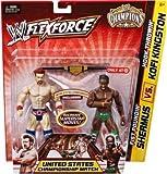 Mattel WWE Wrestling FlexForce Champions Exclusive Action Figure 2Pack Fist Poundin Sheamus VS. Hook Throwin Kofi Kingston