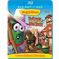 Veggie Tales: Moe and the Big Exit BD/Combo [Blu-ray]