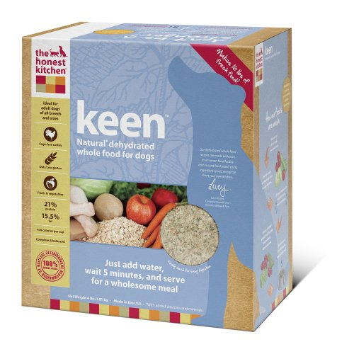 Dog Food: The Honest Kitchen Keen Dehydrated Dog Food, 4-Pound